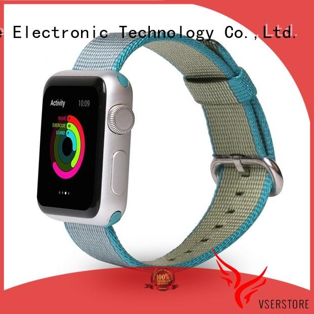 Vserstore sport silicone watch bands directly price for apple watch