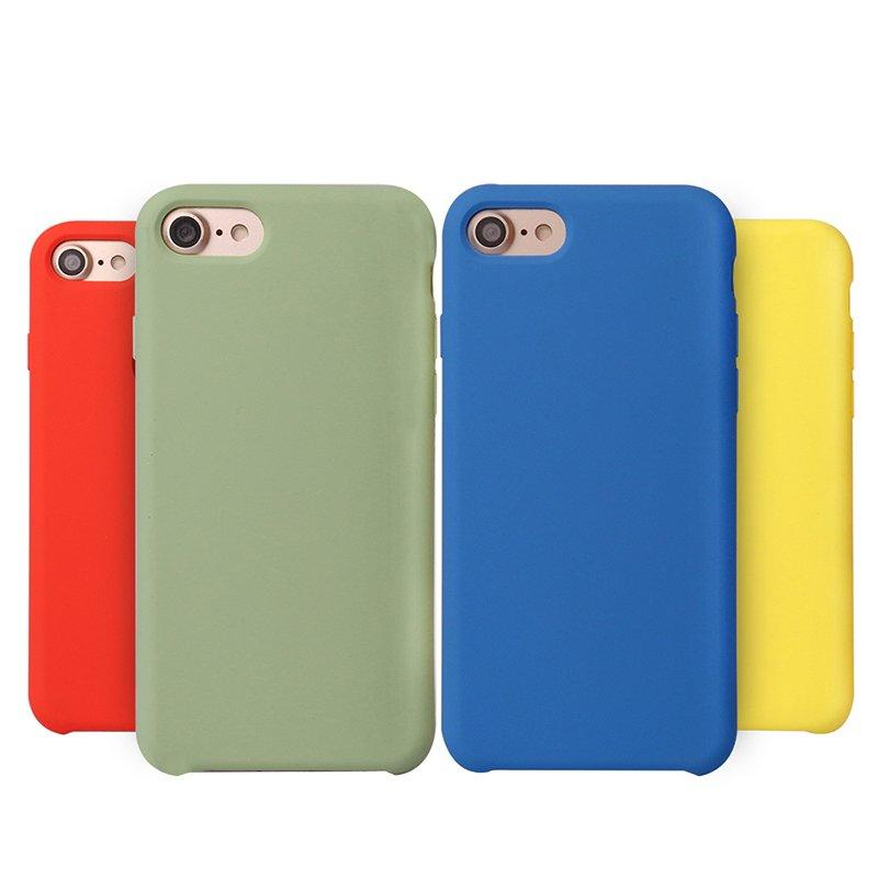 33 Colors Soft Microfiber Liquid Silicone IPhone 7 Case PC0001