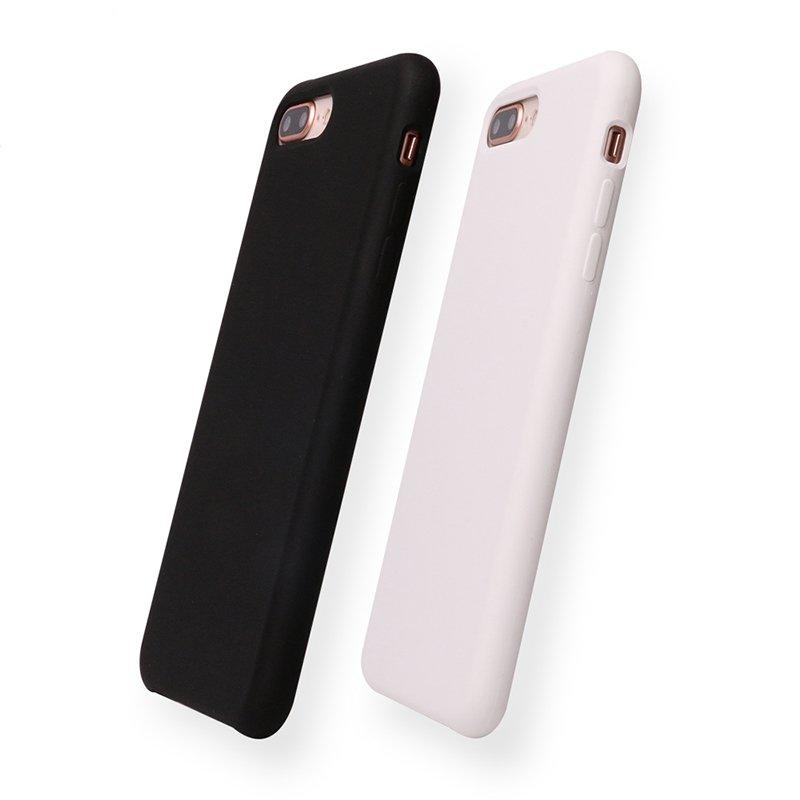 15 Colors High Quality Soft Microfiber Liquid Silicone Phone Case for Iphone 8 PC0002