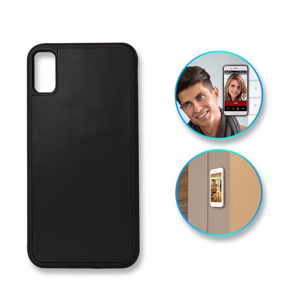 PC+TPU+Nano Suction Anti Gravity Phone Case for Iphone X PC0003