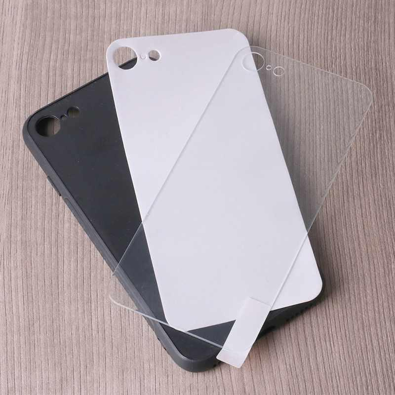 Tempered Glass+TPU +PC  Smartphone Case for Iphone 8 PC0004