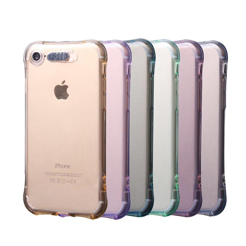 Fashion Light Up TPU Transparent IPhone 8 Case PC0005