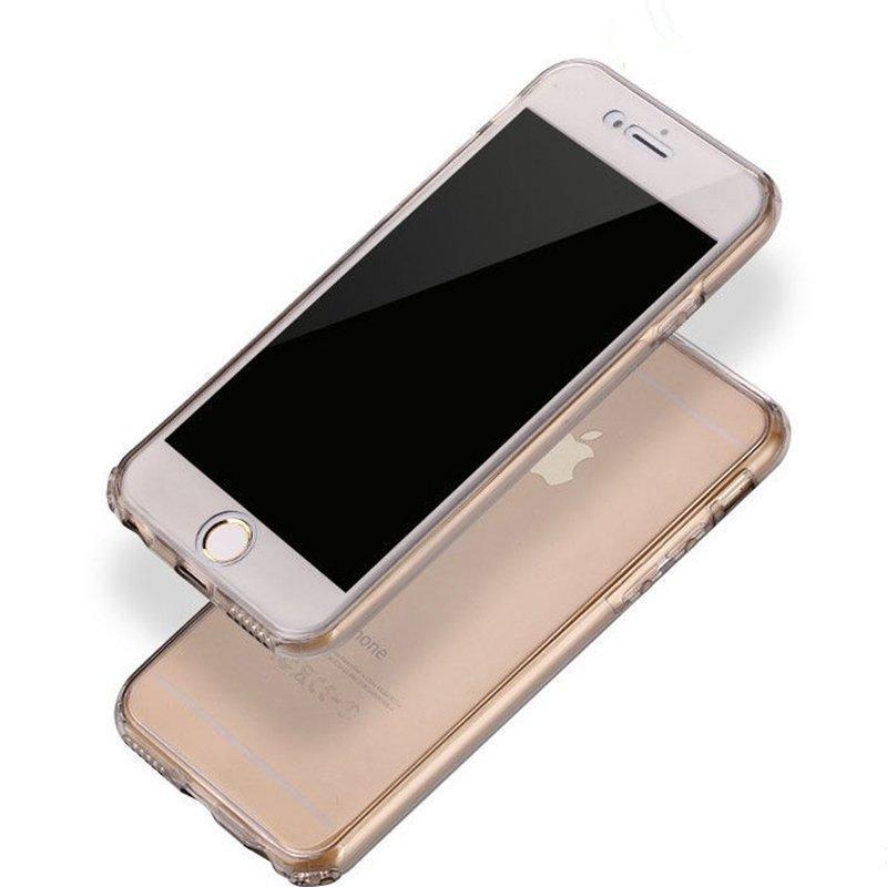 360 Degree Full Body TPU Transparent IPhone 6S Case PC0007