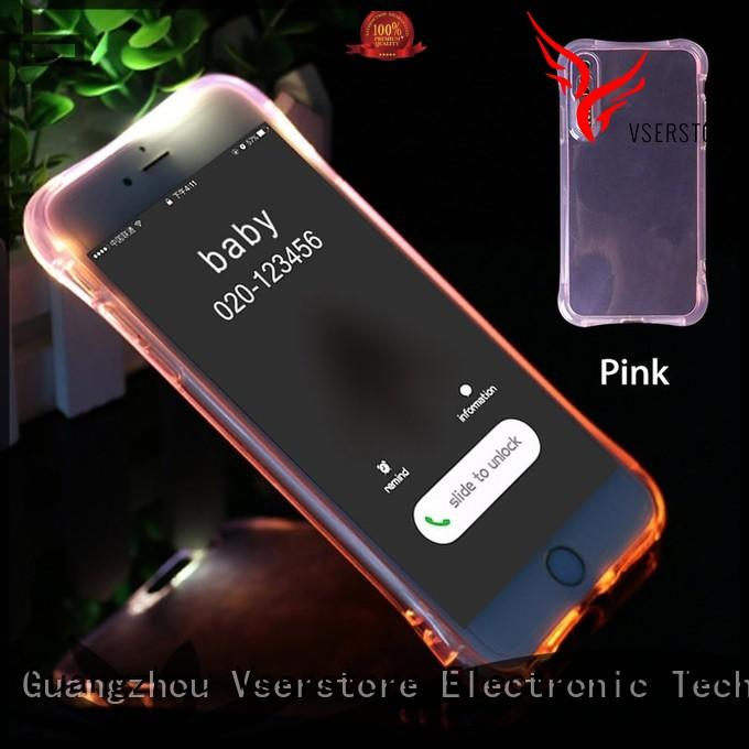Vserstore case iphone case with light on sale for iphone xs