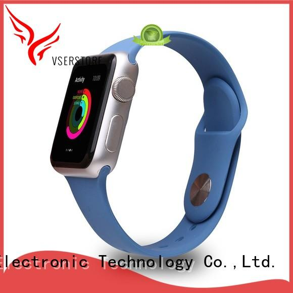 Vserstore reliable rubber watch straps directly price for sport watch