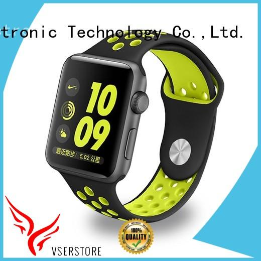 Vserstore comfortable rubber watch straps directly price for apple watch