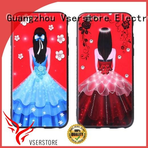 Vserstore back iphone case brands factory price for iphone