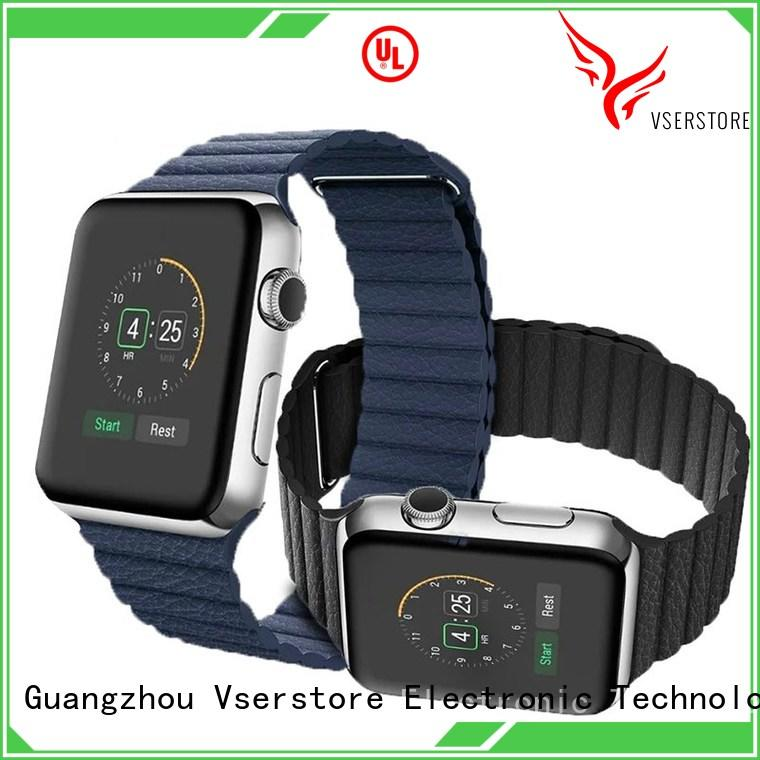 Vserstore leather iwatch straps online for sport watch
