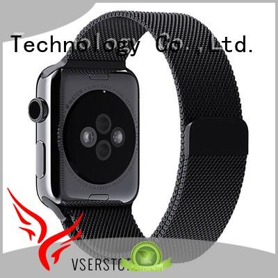 Vserstore woven rubber watch bands promotion for watch